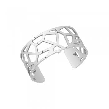 Buy Les Georgettes Medium Silver Girafe Cuff Bangle