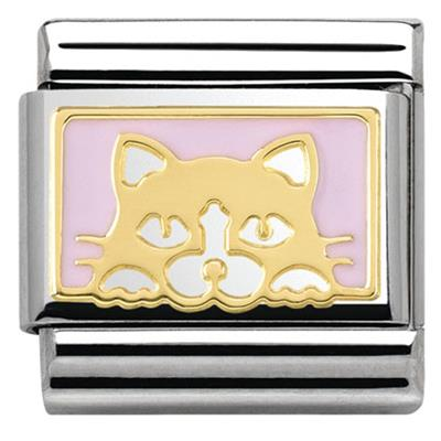 Buy Nomination Gold Pink Kitten