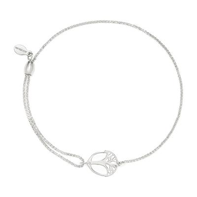 Buy Alex and Ani Unexpected Miracles Pull Chain Bracelet in Silver