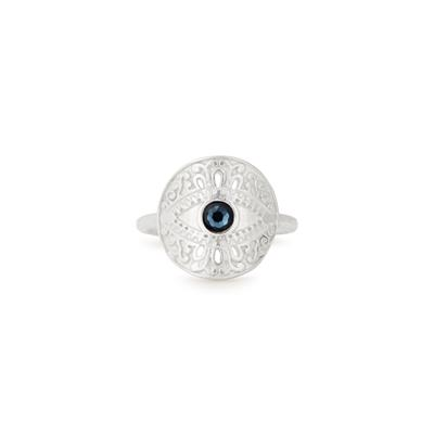 Buy Alex and Ani Evil Eye Ring in Silver