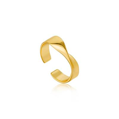 Buy Ania Haie Gold Helix Twist Ring
