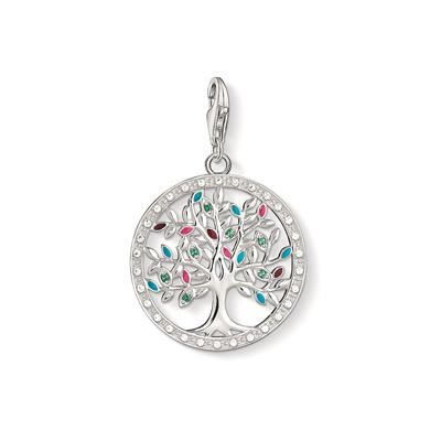 Buy Thomas Sabo Silver Multi-CZ Tree of Life Charm