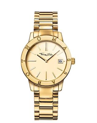 Buy Thomas Sabo Yellow Gold Glam and Soul Watch 33mm