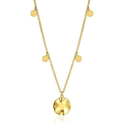 Buy Ania Haie Gold Ripple Multi-Disc Necklace
