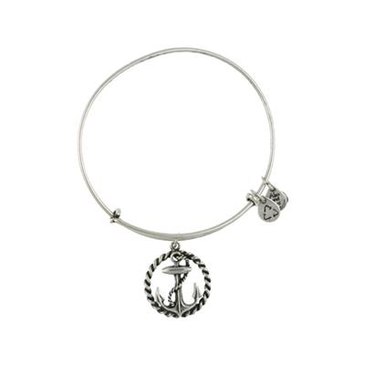 Buy Alex and Ani Anchor Coastal Odyssey in Rafaelian Silver Finish