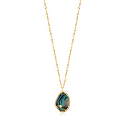Buy Ania Haie Turning Tides Abalone & Gold Necklace