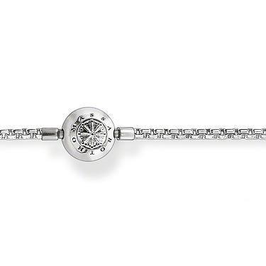 Buy Thomas Sabo Karma Bead Sterling Silver Necklace 50cm