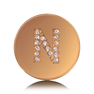 Buy Nikki Lissoni Letter N Small Gold Coin