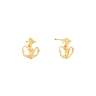 Buy Alex and Ani Anchor Precious Studs in Gold