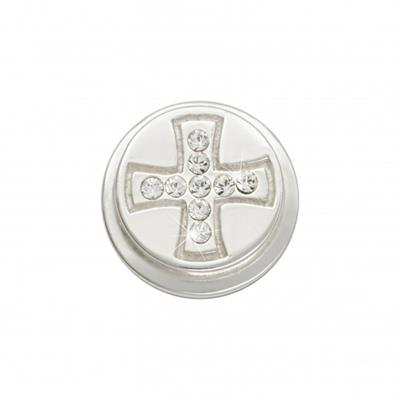 Buy Nikki Lissoni Silver Celtic Cross Ring Coin