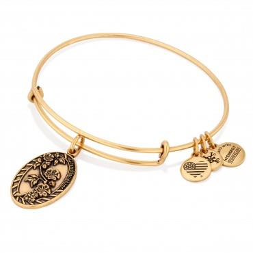 Buy Alex and Ani Because I Love You Granddaughter in Rafaelian Gold