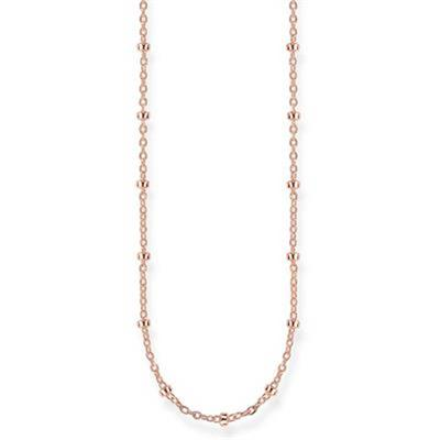 Buy Thomas Sabo Rose Gold Karma Ball Necklace 45cm