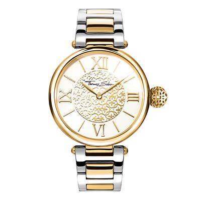 Buy Thomas Sabo Yellow Gold and Sterling Silver Karma Watch