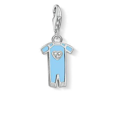 Buy Thomas Sabo Blue CZ Babygrow Charm