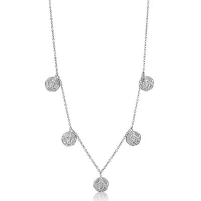 Buy Ania Haie Sterling Silver Small Coins Necklace