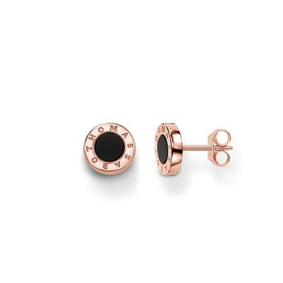 Buy Thomas Sabo GLAM&SOUL Rose Gold Onyx Studs