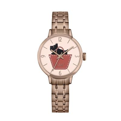 Buy Radley Border Rose Gold Watch