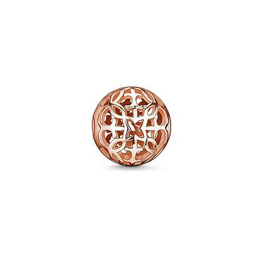 Buy Thomas Sabo Arabesque Rose Gold Karma Bead