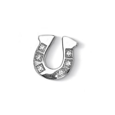 Buy Dower and Hall Silver Pave Horseshoe Treasure