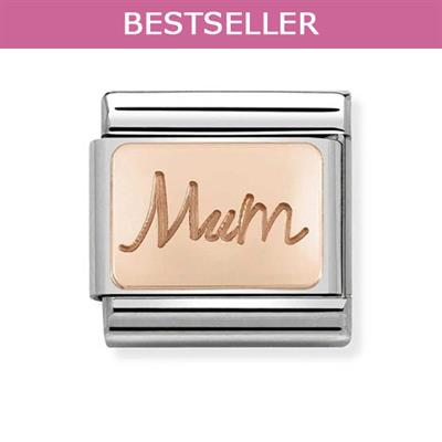 Buy Nomination Rose Gold Mum Charm
