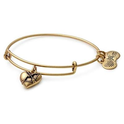 Buy Alex and Ani Cupid's Heart II in Rafaelian Gold