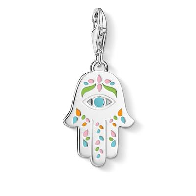 Buy Thomas Sabo Enamel Hand of Fatima Charm