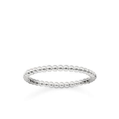 Buy Thomas Sabo Silver Slim Bobble Ring 52