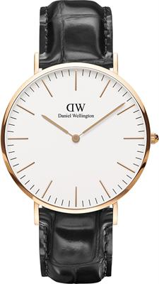 Buy Daniel Wellington Mens Reading Rose Gold Watch