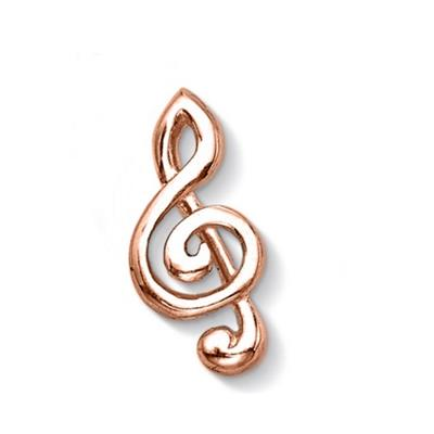 Buy Dower and Hall Rose Gold Treble Clef Treasure