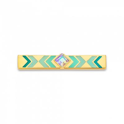 Buy Take What You Need Gypset Turquoise and Gold Toned Bar