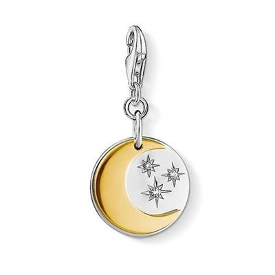 Buy Thomas Sabo Gold Moon and Stars Charm