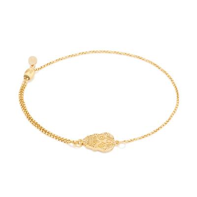 Buy Alex and Ani Calavera Precious Pull Chain Bracelet in Gold