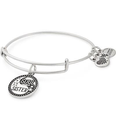 Buy Alex and Ani Soul Sister Bangle in Rafaelian Sister