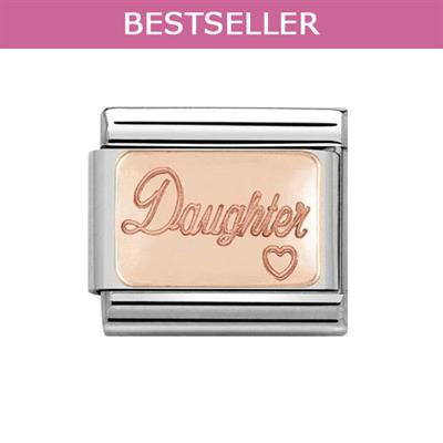 Buy Nomination Rose Gold Daughter Charm