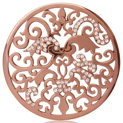 Buy Nikki Lissoni Rose Gold My Imagination Coin 43mm