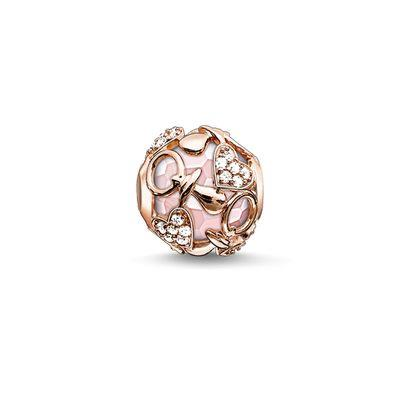 Buy Thomas Sabo Happy Baby Girl Karma Bead in Rose Gold