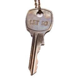 "Buy Giving Keys LET GO Classic Silver 36"" Key Necklace"