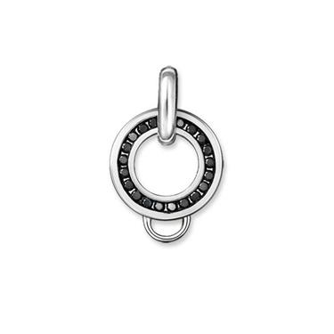 Buy Thomas Sabo Black CZ Charm Carrier