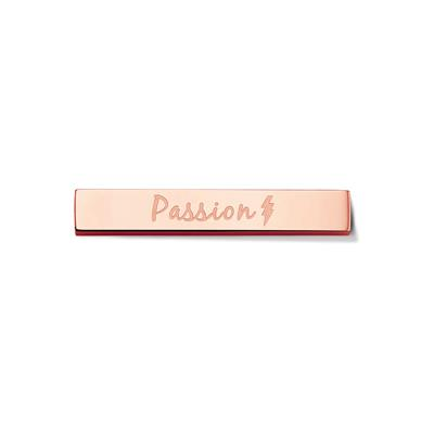 Buy Take What You Need Rose Gold Toned Passion Bar