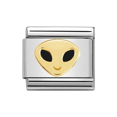 Buy Nomination Gold Alien Face Charm