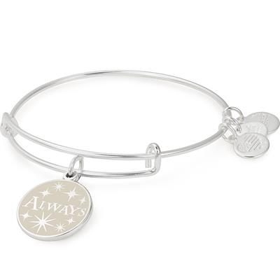 Buy Alex and Ani HARRY POTTER Always Bangle in Shiny Silver
