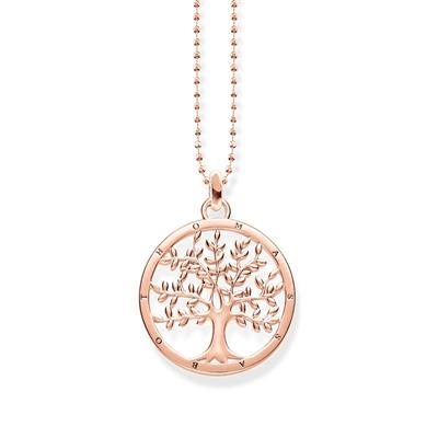 Buy Thomas Sabo Rose Gold Tree of Life Necklace