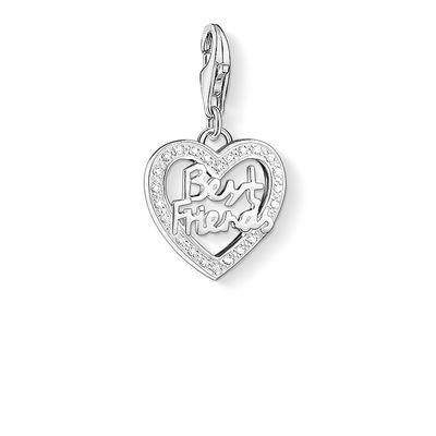 Buy Thomas Sabo Best Friends Silver Heart Charm