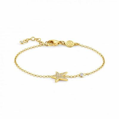 Buy Nomination Gold Stella CZ Bracelet