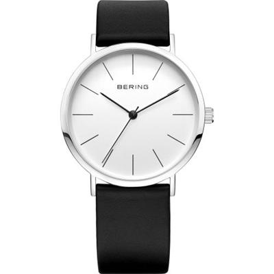 Buy Bering Black and White Leather