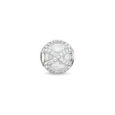 Buy Thomas Sabo White Maharani Karma Bead