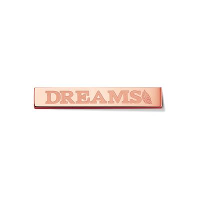 Buy Take What You Need Rose Gold Toned Dreams Bar