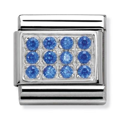 Buy Nomination Blue CZ Pave