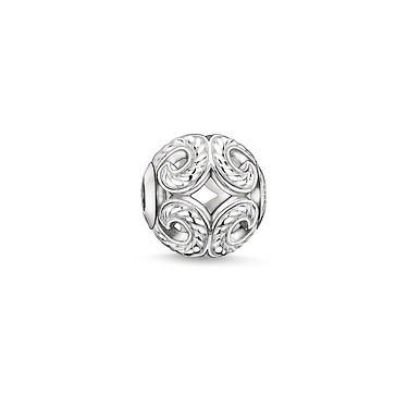 Buy Thomas Sabo Wave Silver Karma Bead