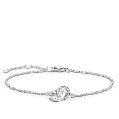 Buy Thomas Sabo Diamond Together Forever Bracelet 19.5cm